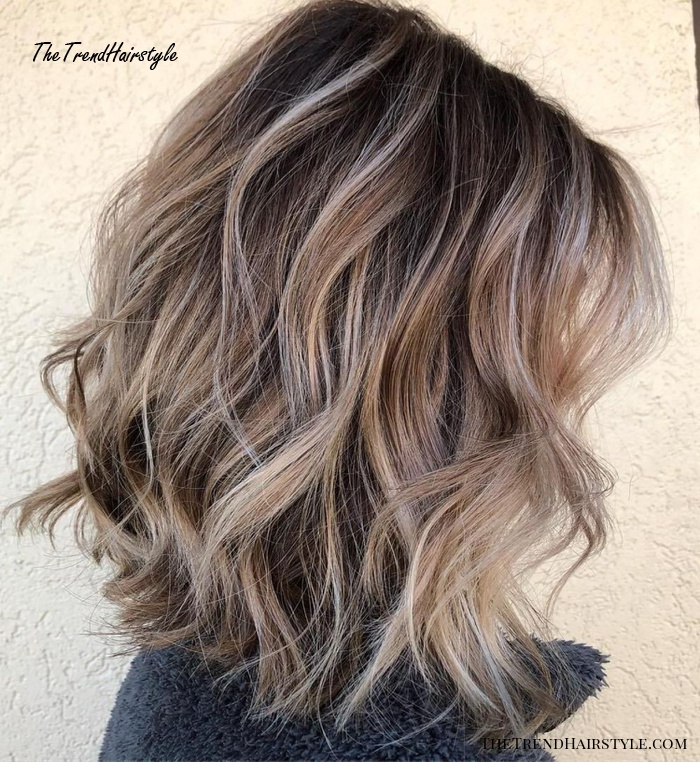 Feathered Mid-Length Style - 60 Fun and Flattering Medium Hairstyles for Women of All Ages - The ...