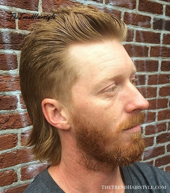 Amazing Mid Length Mullet Haircut Mullet Haircuts Party In The Back Natural Hairstyles Runnerswayorg