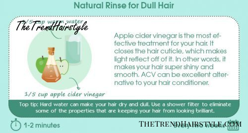 Natural Rinse For Dull Hair