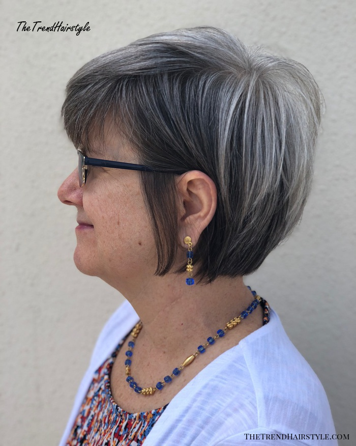 Over Black Pixie Bob With Silver Crown