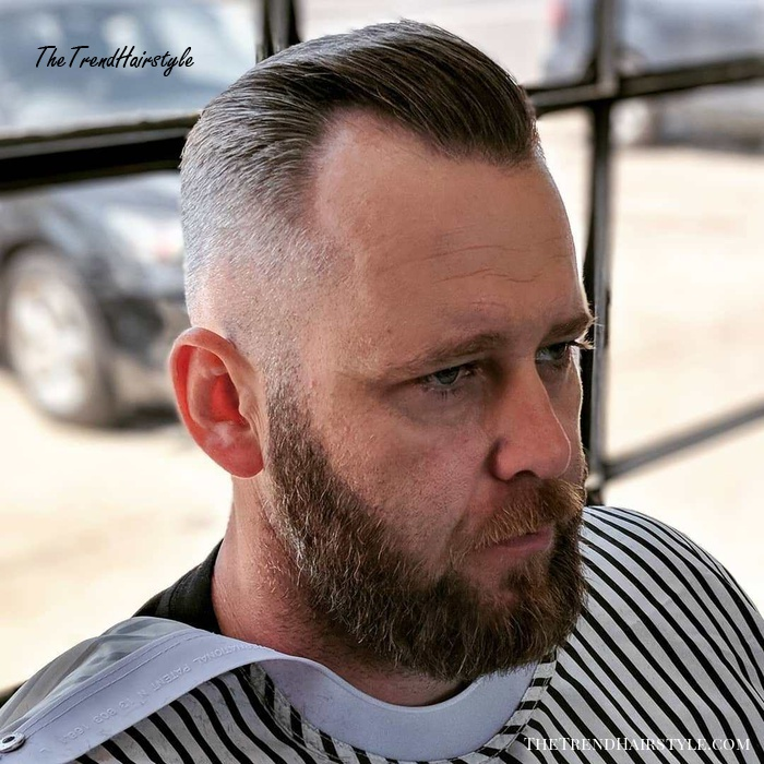 Receding Hairline Fade Hairstyle