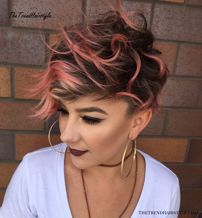 Multiple Shades Of Rose Gold 20 Gorgeous Examples Of Rose Gold Balayage The Trending Hairstyle