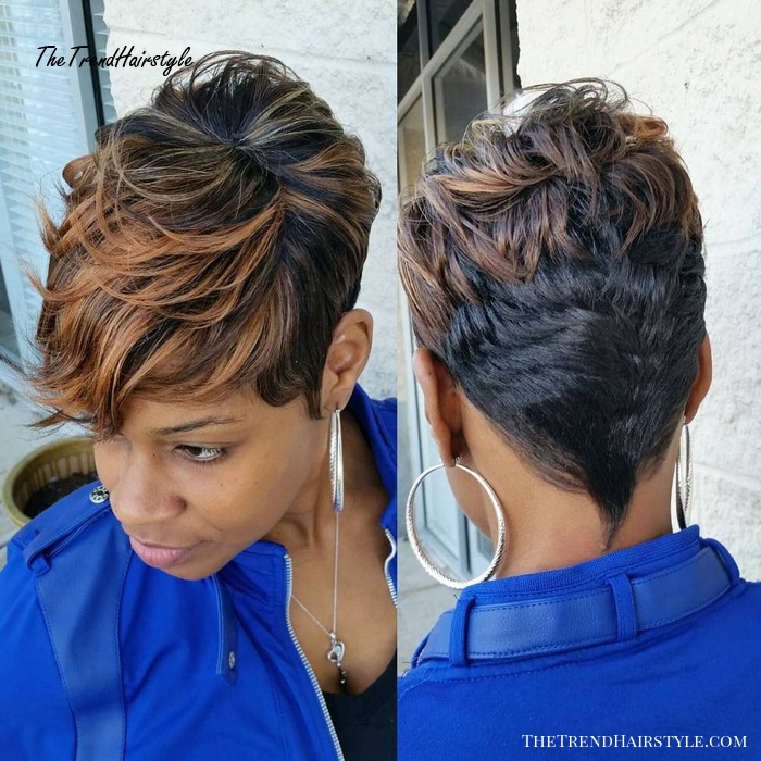 Faded Glory Haircut 60 Great Short Hairstyles For Black Women Therighthairstyles The Trending Hairstyle