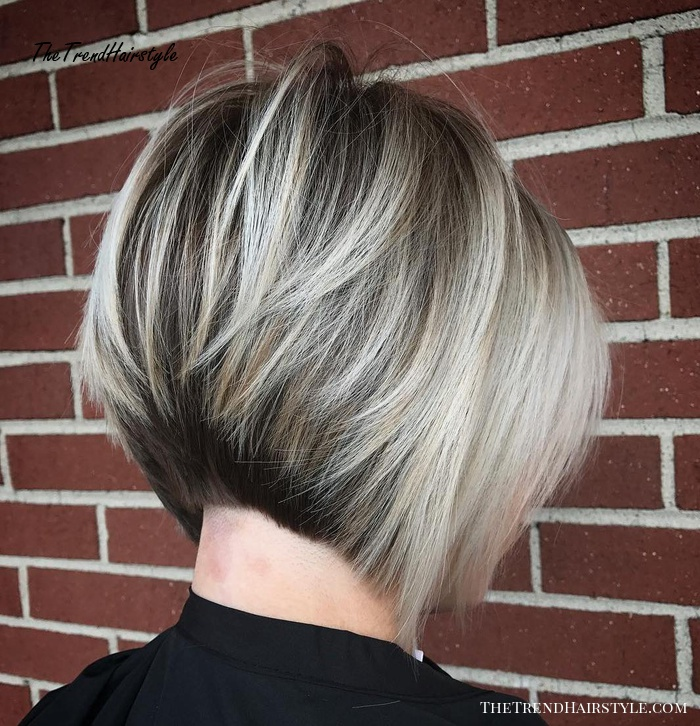 Shaggy Inverted Bob 50 Trendy Inverted Bob Haircuts The