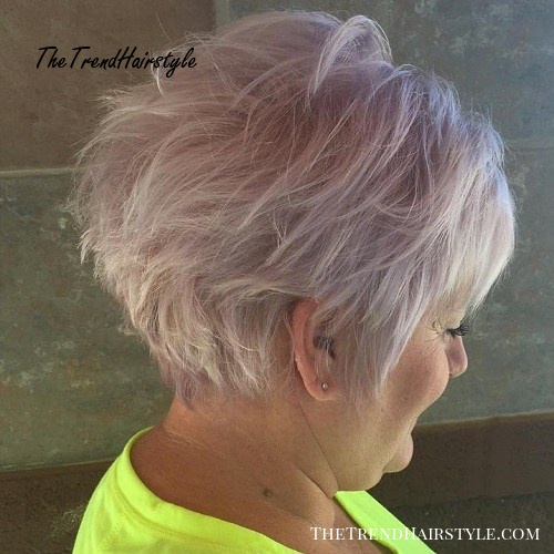Short Hairstyle For Thin Hair