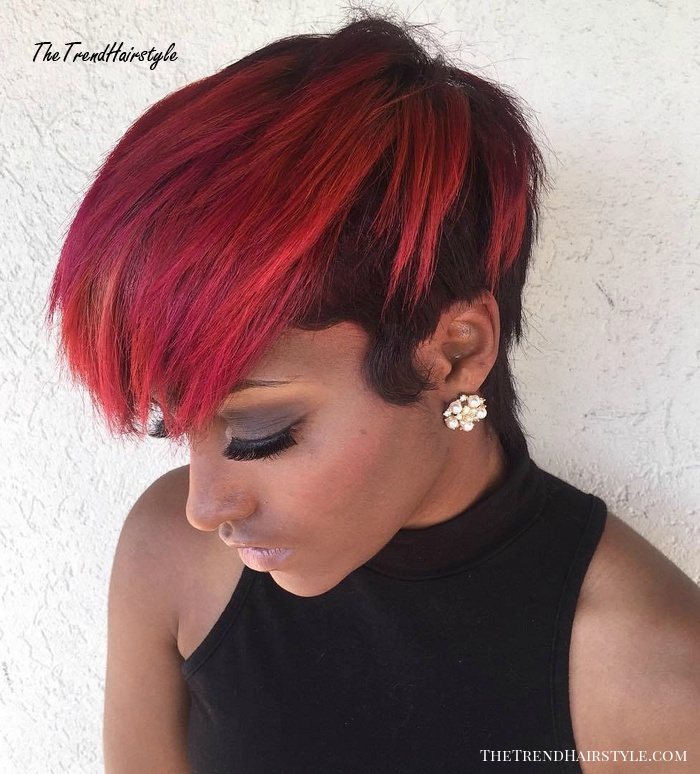 Short Edgy Fireball 40 Best Edgy Haircuts Ideas To Upgrade Your Usual Styles The Trending Hairstyle Page 16