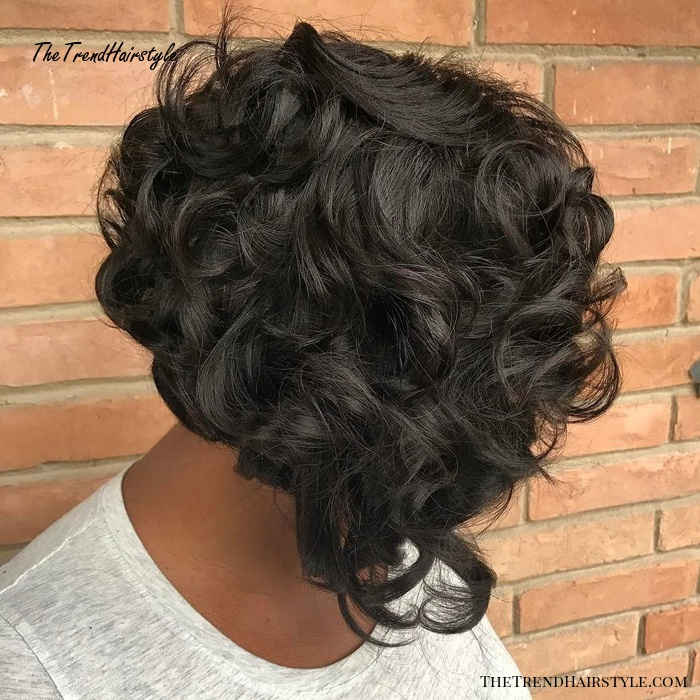 Hollywood Glamor Bob - 20 Stunning Ways to Rock a Sew In Bob - The Trending Hairstyle