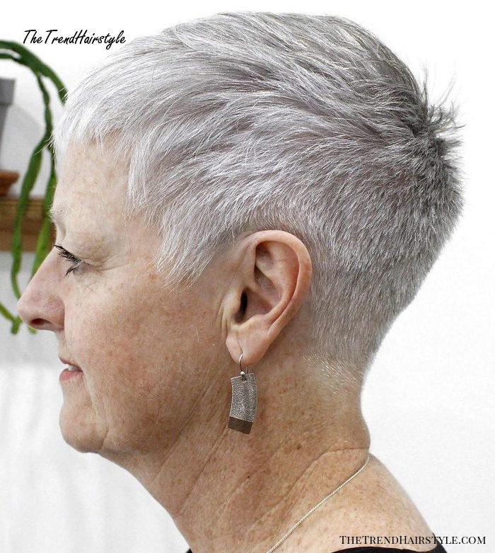 Short Tapered Haircut For Women