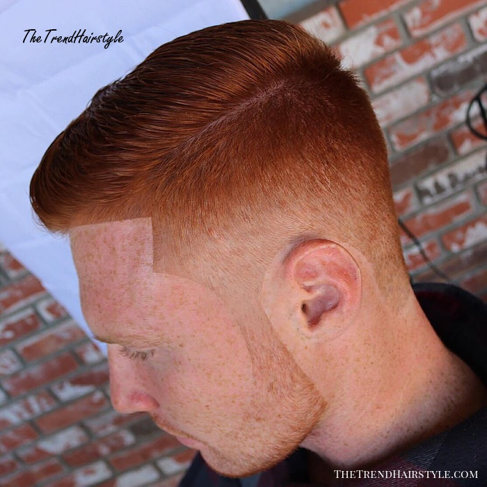 Side Part Low Fade