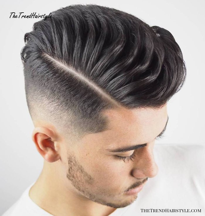 Side Parted Fade