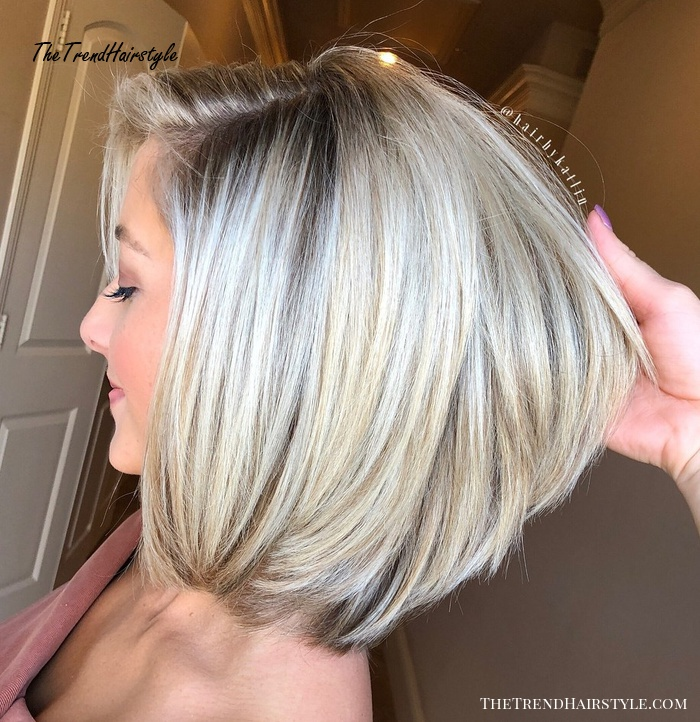 Rounded Collarbone Bob 80 Sensational Medium Length Haircuts For Thick Hair In 2019 The Trending Hairstyle