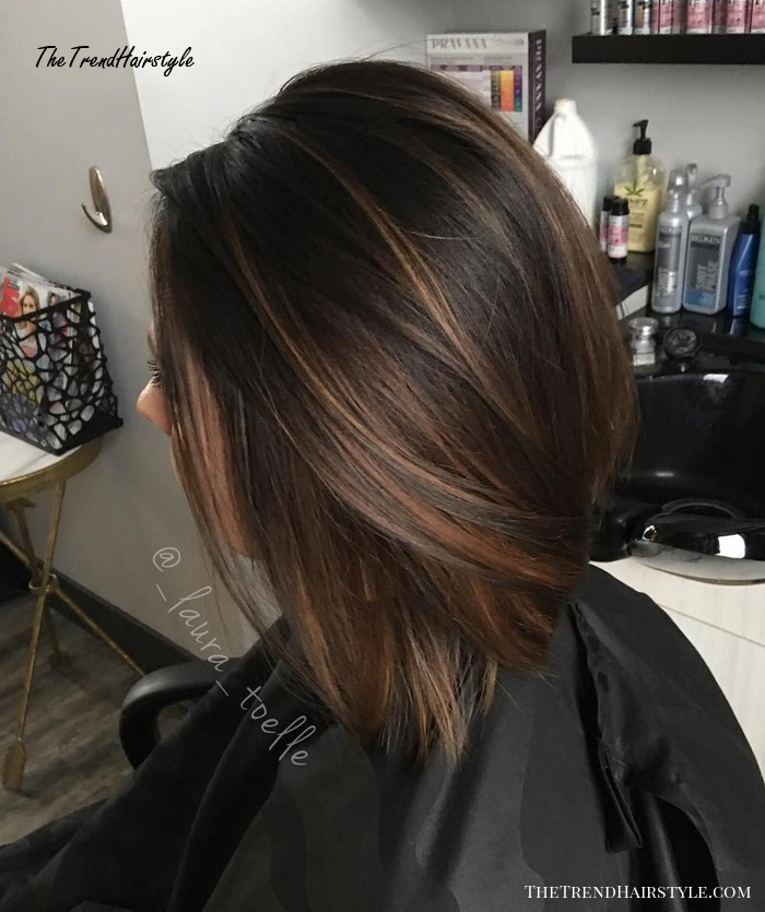 Espresso Base With Hazel Ribbons 60 Chocolate Brown Hair Color Ideas For Brunettes The Trending Hairstyle,United Airlines Baggage International