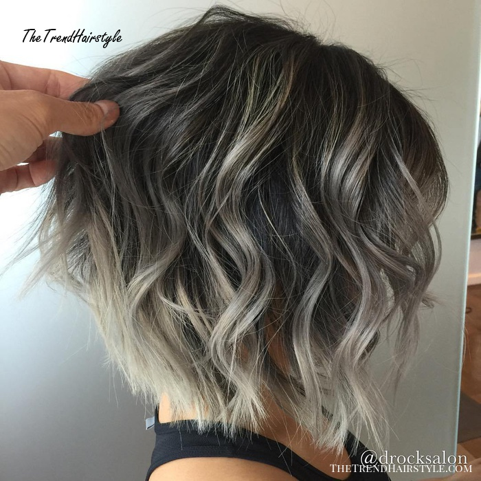 Brownish Grey Enchantment 45 Ideas Of Gray And Silver Highlights On Brown Hair The Trending Hairstyle