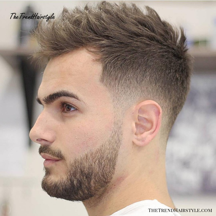 Pleasant Short Combover With Temple Fade 50 Classy Haircuts And Schematic Wiring Diagrams Phreekkolirunnerswayorg