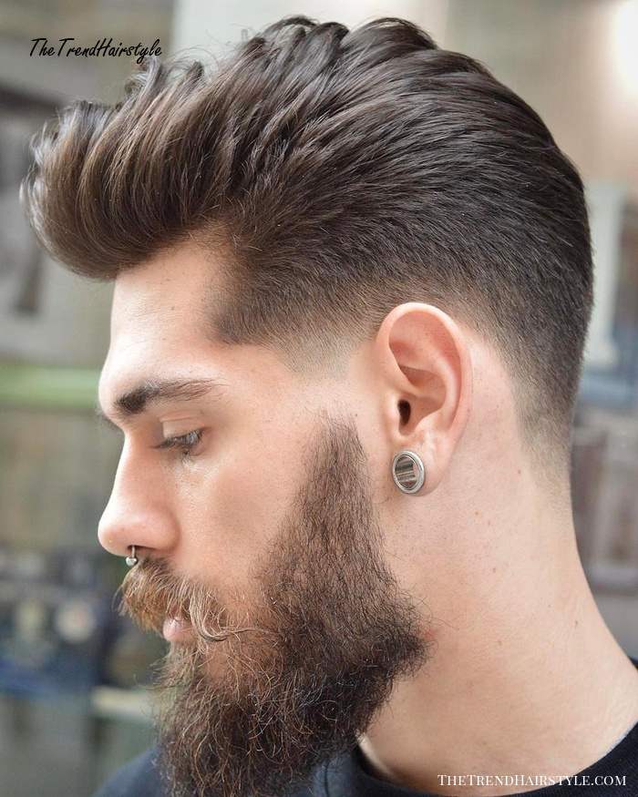 Hipster Taper Fade 20 Top Men S Fade Haircuts That Are Trendy Now The Trending Hairstyle
