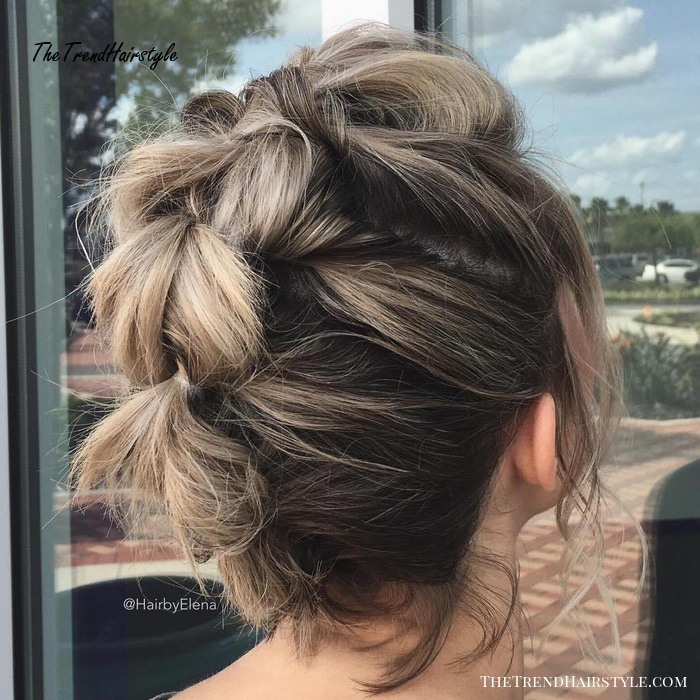 Topsy Tails Braided Mohawk