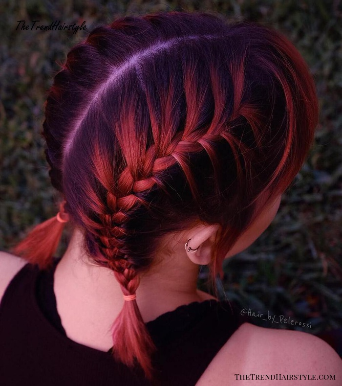 Mid-Length Athletic Pigtails - 40 Best Sporty Hairstyles ...