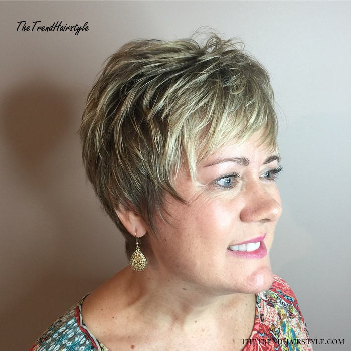 Very Short Textured Razor Cut for Fine Hair - 20 Youthful ...