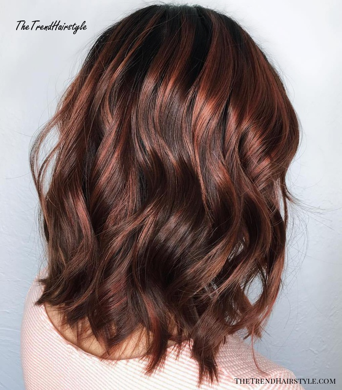 Espresso Base With Hazel Ribbons 60 Chocolate Brown Hair Color Ideas For Brunettes The Trending Hairstyle,Short Curtains For Small Bedroom Windows