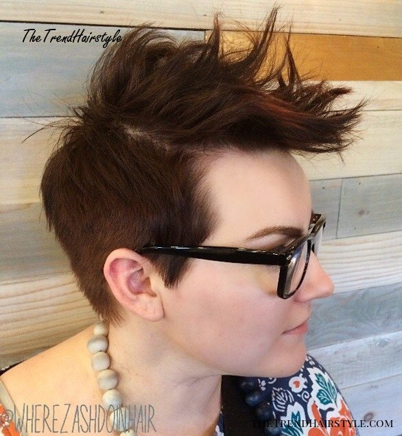 Multiple Messy Layers 40 Bold And Beautiful Short Spiky Haircuts For Women The Trending Hairstyle