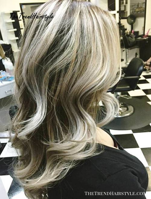 ash brown blonde hair with highlights