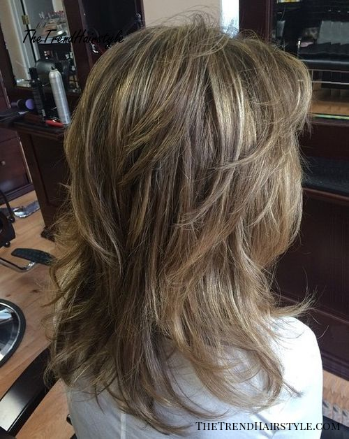 ash brown straight hairstyle