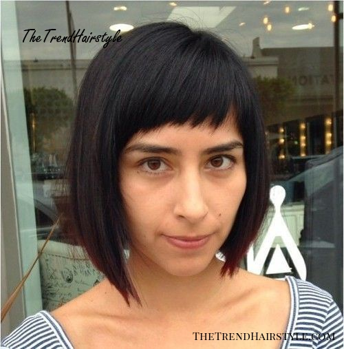Blonde Contouring , 40 Chic Angled Bob Haircuts , The