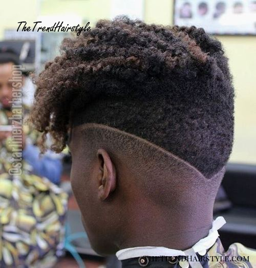 Long Top Short Sides And Back 40 Stirring Curly Hairstyles For Black Men The Trending Hairstyle