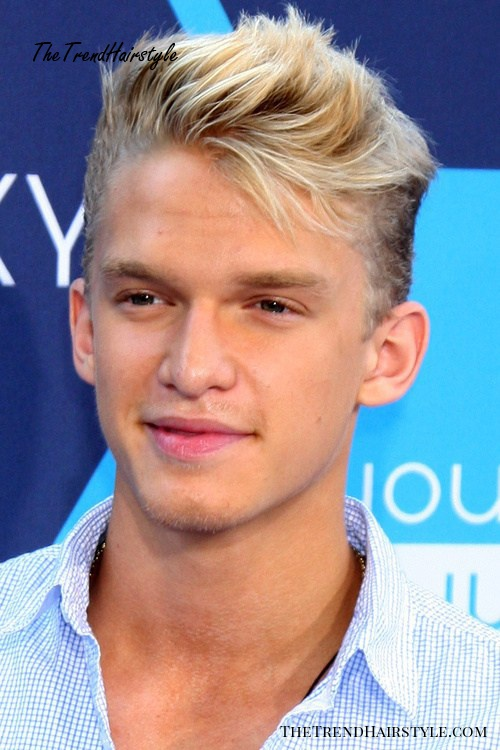 cool comb over hairstyle for guys