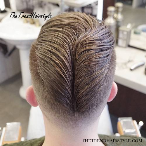 creative men's hipster hairstyle