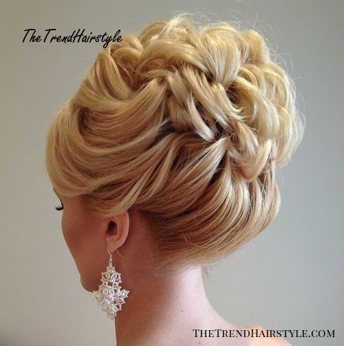Wonderful Wild Waves 40 Chic Wedding Hair Updos For Elegant Brides The Trending Hairstyle