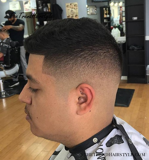 fade for wavy hair