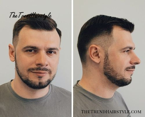 Peachy Short Combover With Temple Fade 50 Classy Haircuts And Schematic Wiring Diagrams Phreekkolirunnerswayorg