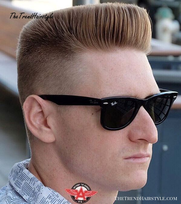 flat top haircut with extra short sides