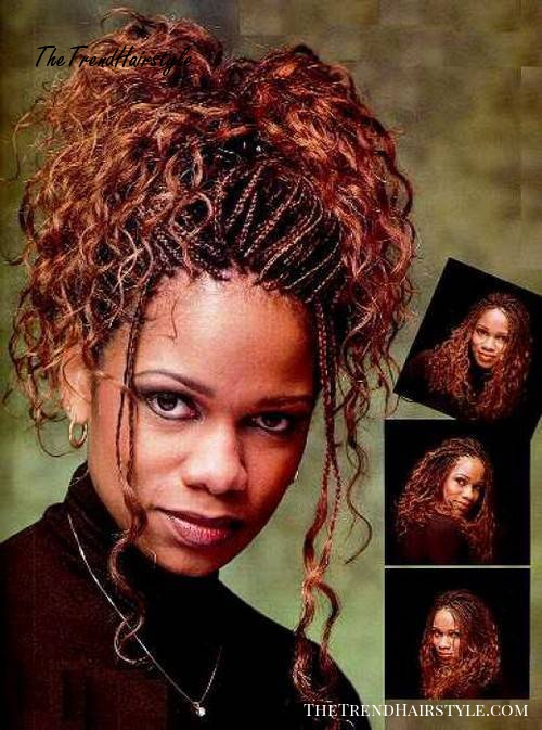 hairstyles for box braids