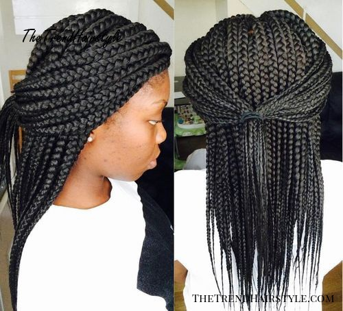 Braids With Bead Embellishments