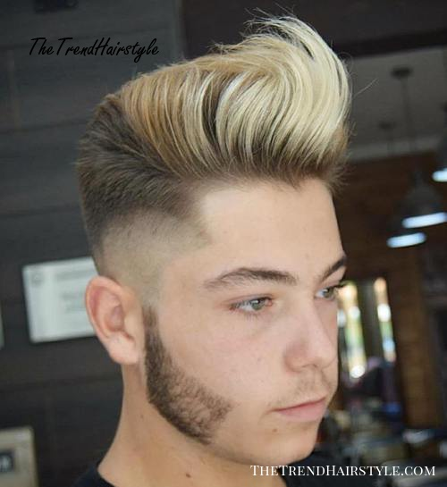hipster quiff hairstyle