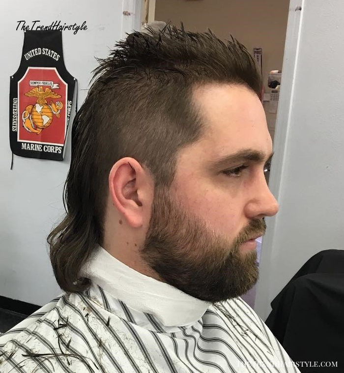 Mid-Length Mullet Haircut - Mullet Haircuts: Party in the ...