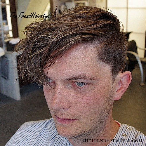 long quiff hairstyle for men