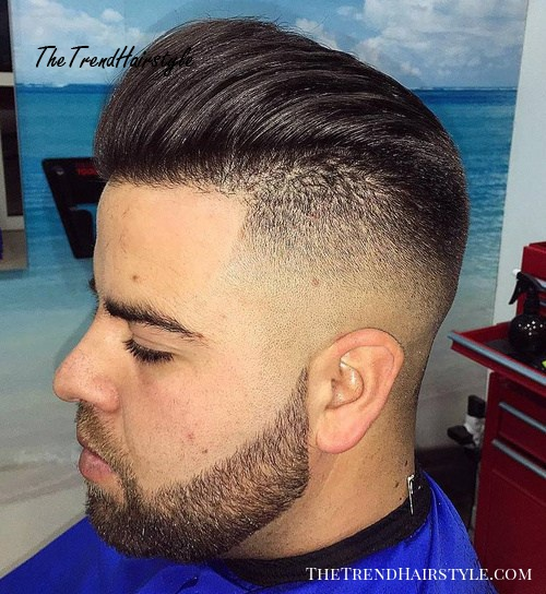 Shaved Sides Blowback 40 Ritzy Shaved Sides Hairstyles And Haircuts For Men The Trending Hairstyle