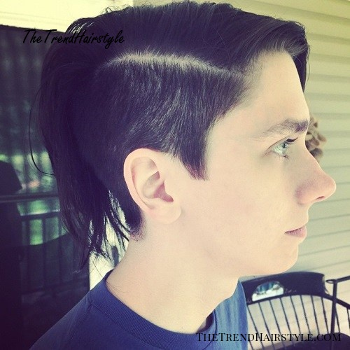 long undercut hairstyle for guys