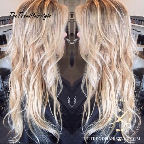 Long Wavy Hairstyles With Layers 105
