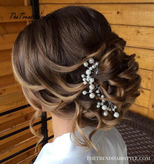 Wonderful Wild Waves 40 Chic Wedding Hair Updos For