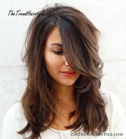 Mid Length Layered Hairstyles For Thick Hair 49
