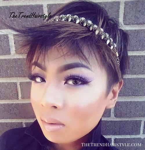 new year's eve pixie hairstyle