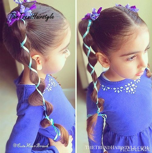 ponytails hairstyles for girls