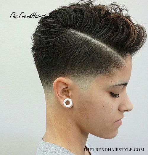 Messy Hawk For Women 70 Most Gorgeous Mohawk Hairstyles Of Nowadays The Trending Hairstyle
