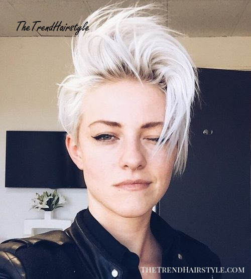 Ice Them Out 35 Short Punk Hairstyles To Rock Your Fantasy The Trending Hairstyle