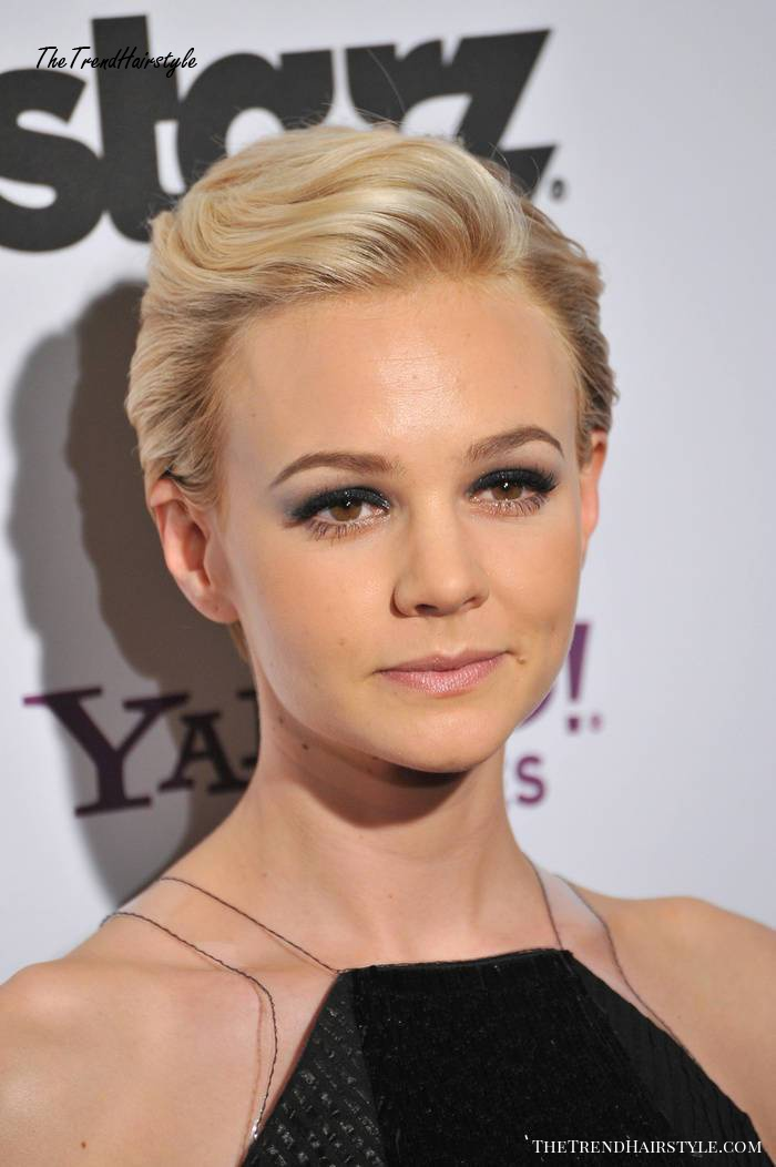 short hairstyle for new years eve