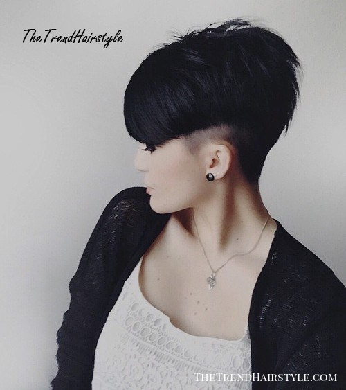 short sassy layered haircut